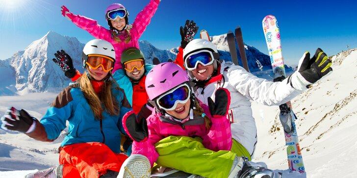 Rodinná lyžovačka v SNOWLANDE Valčianska dolina