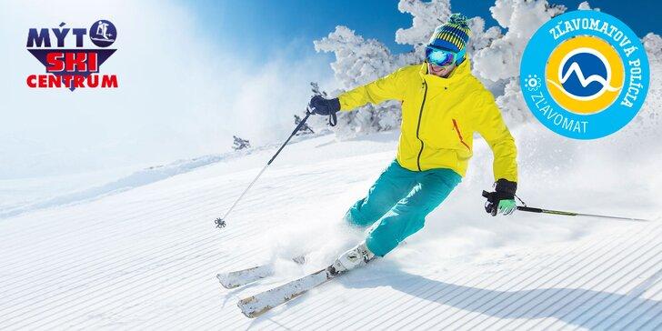 4-hodinový skipas do lyžiarskeho strediska Mýto pod Ďumbierom