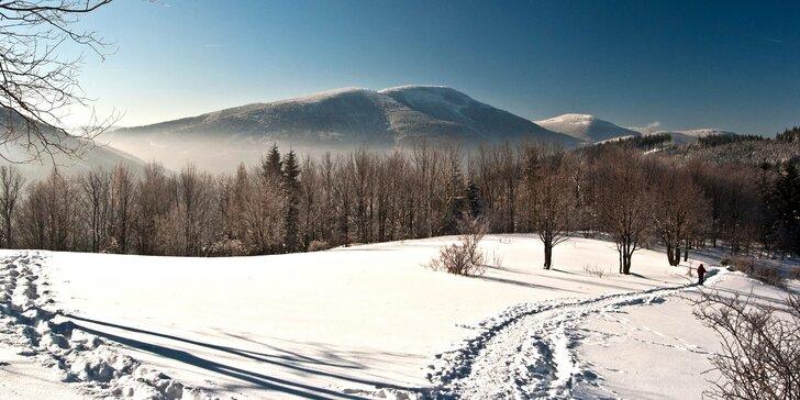 Turistická alebo lyžiarska dovolenka v Beskydách - 3 alebo 4 dni s polpenziou