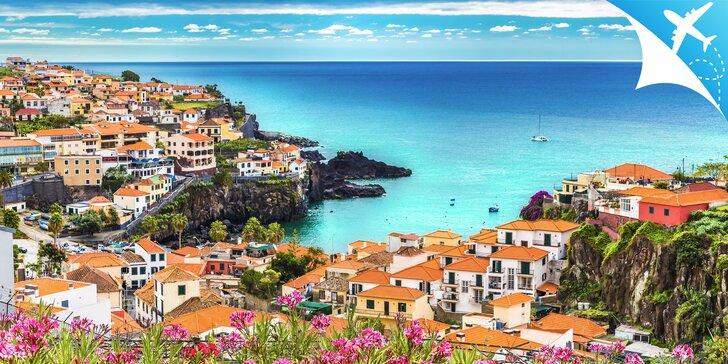 Oddych na dychberúcom ostrove Madeira a ostrovoch Desertas