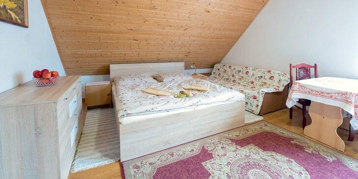 Rozprávkový pobyt v Oravskom domčeku s možnosťami rôznych aktivít v okolí
