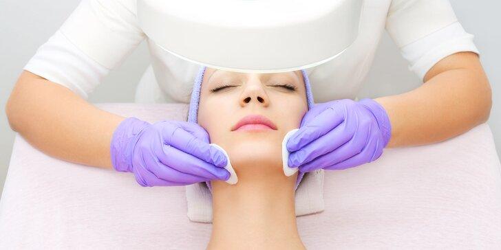 Hĺbkové, antiaknózne alebo regeneračné ošetrenie pleti