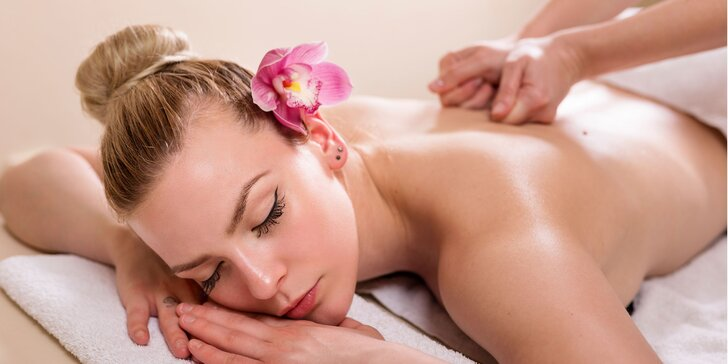 Klasická relaxačná a medová masáž v salóne Lucka