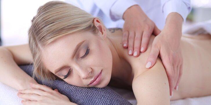 3 druhy masáží: klasická, shiatsu a anticelulitídna alebo bemer terapia