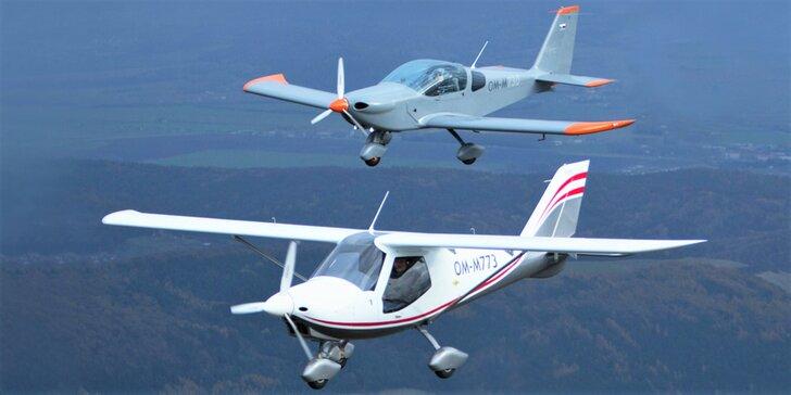 Let lietadlom Viper SD4 či Skyper GT9 s možnosťou pilotovania – exkluzívny valentínsky darček!