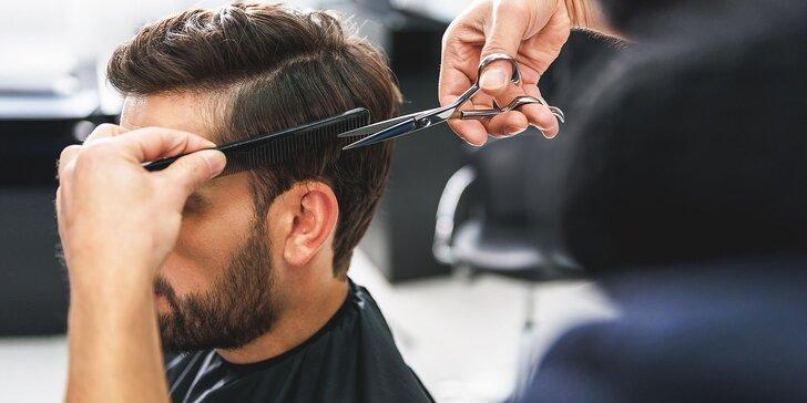 Pánsky strih, liftingová masáž a starostlivosť o vlasy
