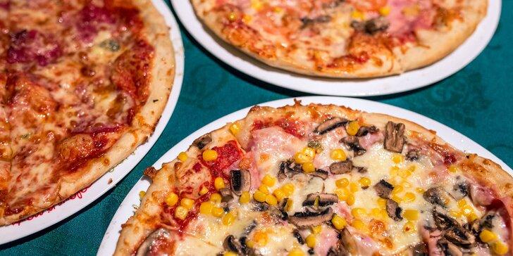 Vynikajúca pizza priamo na mieste alebo aj take away!