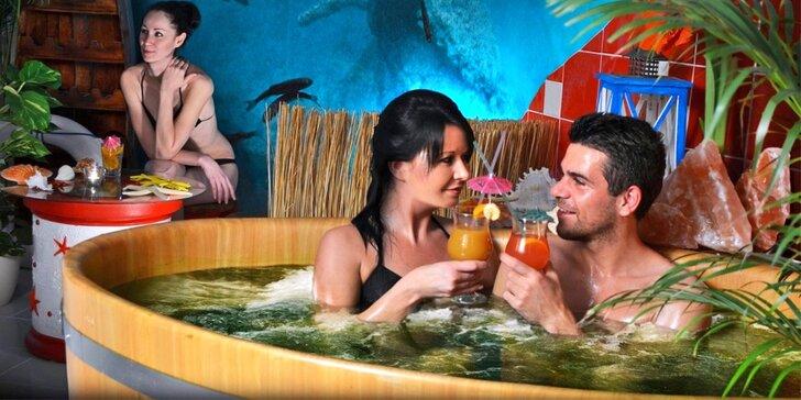 Dobite sily morskou, čokoládovou či kráľovskou starostlivosťou v Rožnovských kúpeľoch
