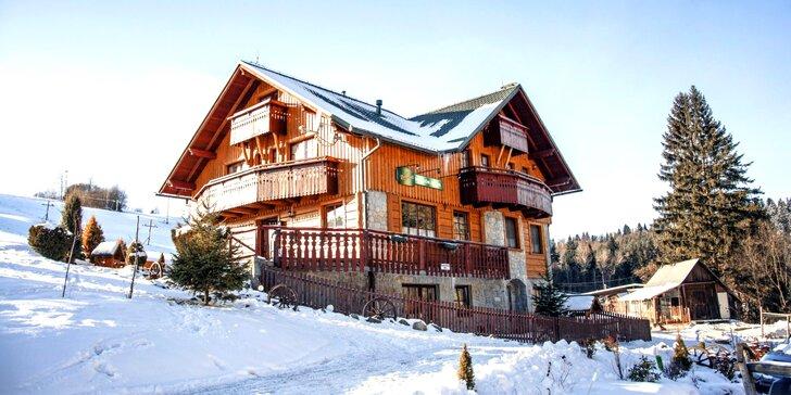 Dovolenka plná oddychu a zimnej romantiky v doline Ľubovnianskych Kúpeľov