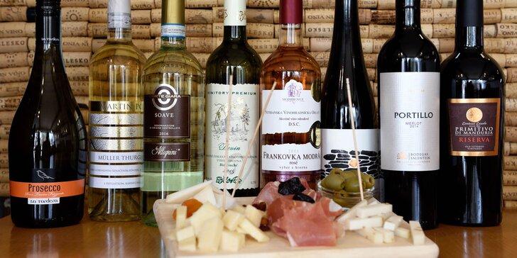 Profesionálna degustácia vín so someliérom spoločnosti WINE EXPERT