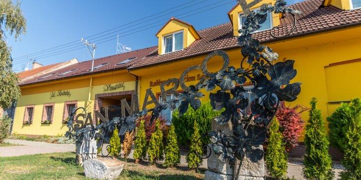 Oddych pre 2 na južnej Morave: 3-4-denná dovolenka v penzióne s raňajkami