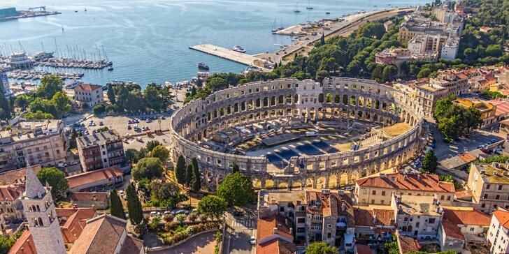 Výlet za pokladmi chorvátskej Istrie