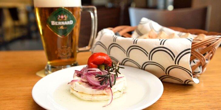 Hermelín alebo oškvarkový chlebík s pivkom v Chuťovke!