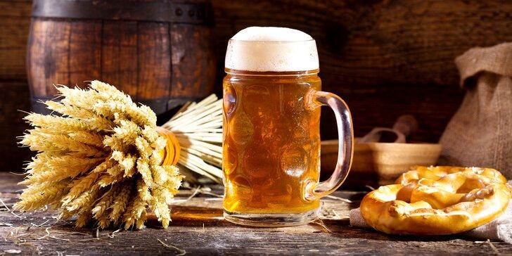Pobyt a exkurzia v hoteli s pivovarom, degustácia a pivný kúpeľ