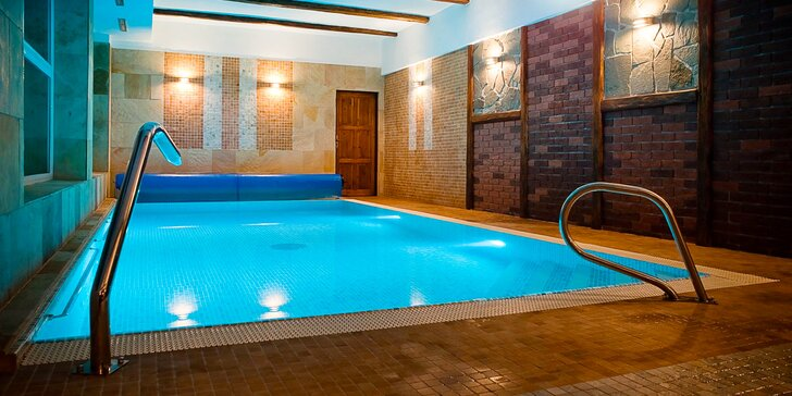 Neodolateľný relax v Jeseníkoch: polpenzia, wellness, slaný bazén i masáže