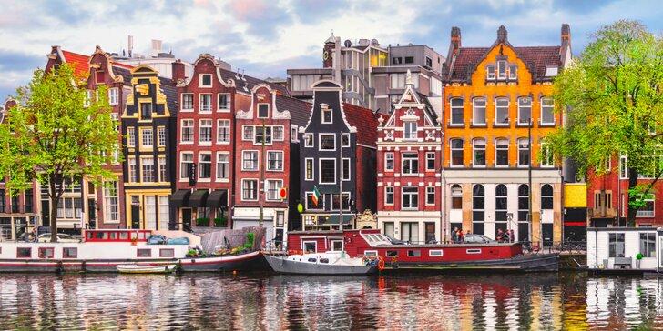 Putovanie Holandskom a návšteva Amsterdamu