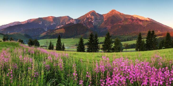 Skvelá dovolenka na horách pre celú rodinu v penzióne Rysy vo Veľkej Lomnici