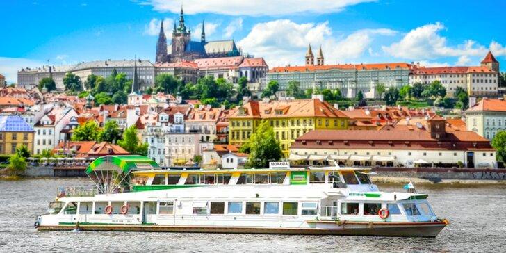 Námorníci, hurá na Vltavu: vyhliadkové plavby aj s rautom