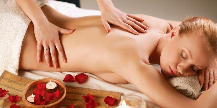 Relaxačná masáž v Centre zdravia a krásy The Alume