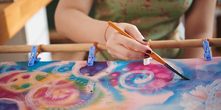 Hodvábenie - maľovanie na hodváb