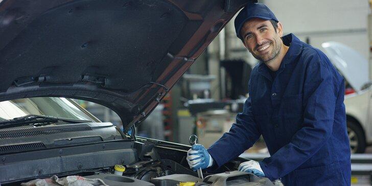 Servis klimatizácie alebo výmena oleja a filtra vo vašom štvorkolesovom tátošovi!