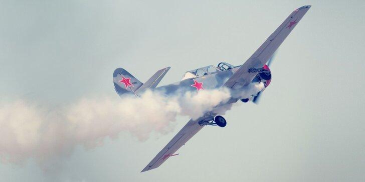 Úchvatné akrobatické lety na lietadle YAK 52