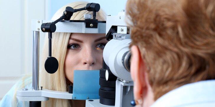 Dioptrické sklá, vyšetrenie zraku očným lekárom a zľava na rámy