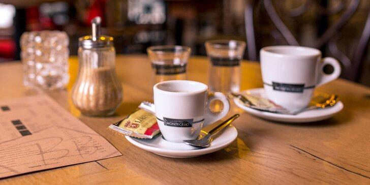 Mojito, káva Montecelio alebo otvorený 20 € voucher na konzumáciu