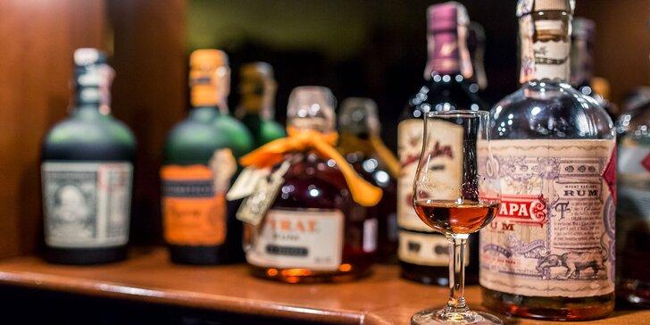 Ochutnávka rumov pre všetkých rumšmekerov!