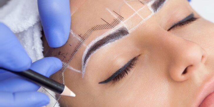 Permanentný make-up obočia microbladingom