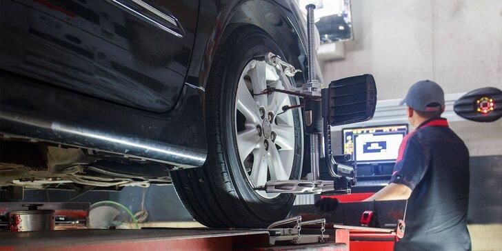 Prezutie pneumatík či prehodenie kolies s vyvážením