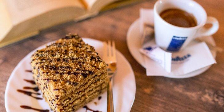 Espresso s chutnou Marlenkou v Intermezzo Caffe