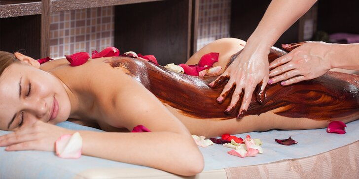 Havajská, medová alebo čokoládová masáž