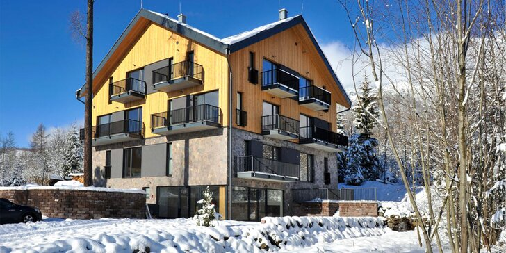 Novopostavená Vila Olívia s modernými apartmánmi vo Vysokých Tatrách