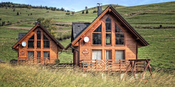 Komfortné ubytovanie pre rodiny aj priateľov v chatách v Ždiari