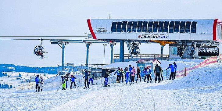 Skipasy do poľského strediska Bukowina Tatrzańska – Rusiń ski