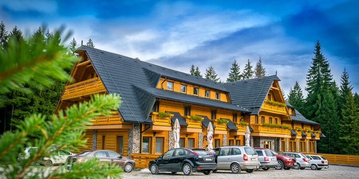 Horský Hotel Kristína*** s neobmedzeným bazénom, wellness a športami v krásnej Oravskej prírode v Hruštíne
