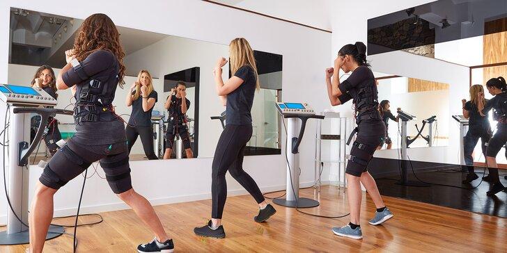 EMS cvičenie pre 1 alebo 2 osoby v Revolution Body