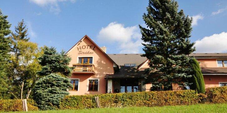 2 alebo 3 dni na Valašsku s domácou kuchyňou, wellnessom aj príležitosťami k športu