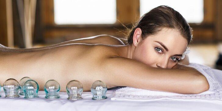 Masáž chrbtice a šije či celého tela