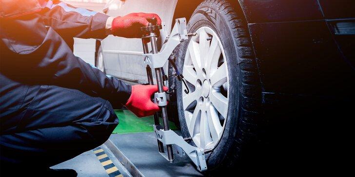 Výmena kolies alebo prezutie a vyváženie pneumatík