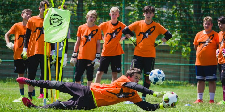 Dobrodružné loptové hry a futbalový kemp v Zemnom — J4K brankársky kemp v Zemnom