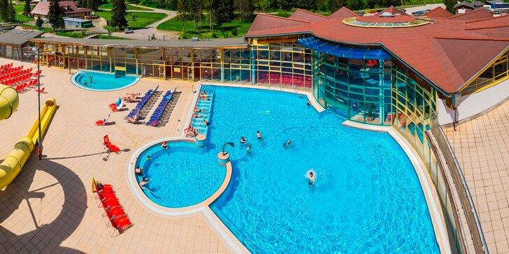 Jar plná oddychu a zábavy v Aquaparku Oravice!