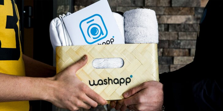 Čistenie odevov vo Washapp online čistiarni
