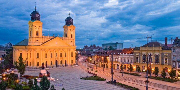 Relaxujte v druhom najväčšom meste Maďarska plnom histórie, kultúry a kúpeľov