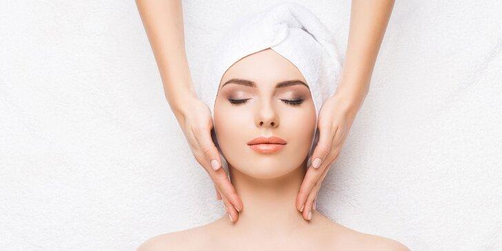 Jarné hydratačné ošetrenia pleti s masážou tváre a dekoltu