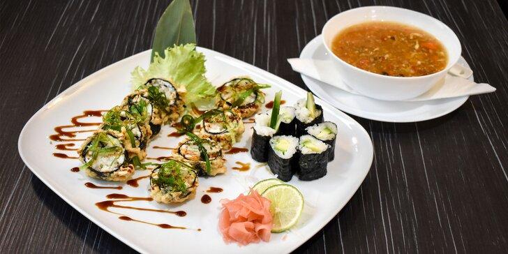 Netradičné originálne sushi v Hamasaki Sushi Bare