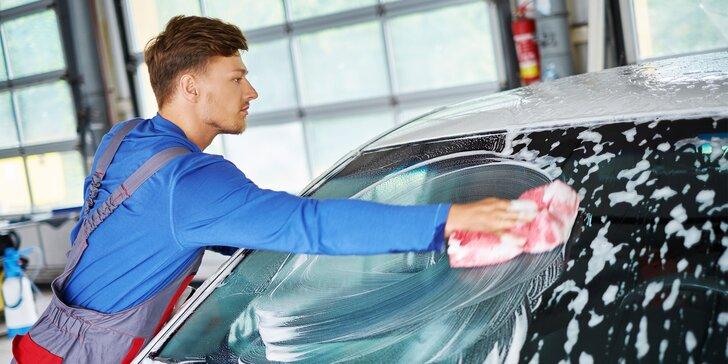 Poctivé kompletné ručné umytie a čistenie auta