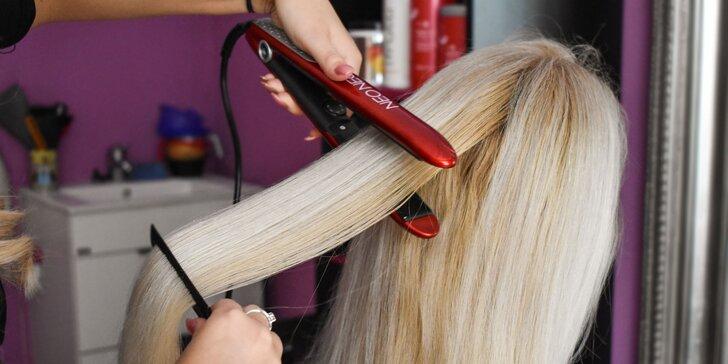 Profesionálny strih, farbenie a jarná regenerácia vlasov