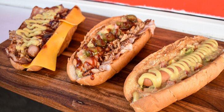 Vyberte si svoj HOT DOG a dajte si ho s hranolčekmi